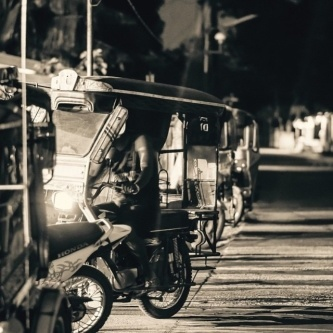 The tricycle, along with the famous Jeepney, are one of the main transport options for travellers across the Philippines.  Photo: @vin_aranas87